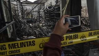 Warung Sembako di Cipayung Terbakar, Tiga Tewas