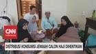 VIDEO: Distribusi Konsumsi Jemaah Calon Haji Dihentikan