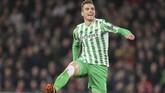 Tottenham Hotspur mendapatkan gelandang internasional Argentina Giovani Lo Celso dengan status pinjaman dari Real Betis. (AP Photo/David Vincent, File)