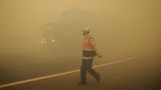 Asap Kebakaran Hutan, Pesawat Gagal Mendarat di Putussibau