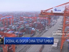 'Dicambuk' Perang Dagang, Ekspor China Tetap Tumbuh 3,3%