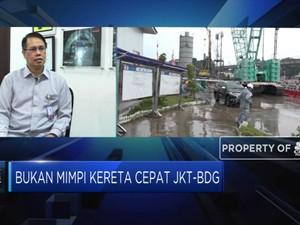 Proyek Kereta Cepat Jakarta - Bandung Baru 28%