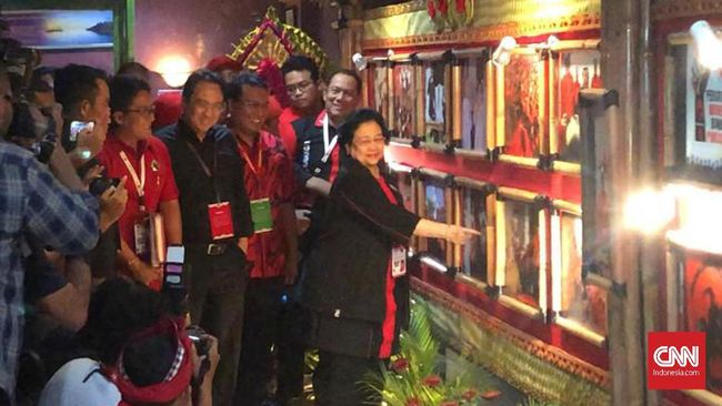 Ketua PDIP Solo FX Rudy Absen Rakernas di Jakarta