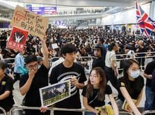 Demo Memanas, Bandara Hong Kong Lumpuh