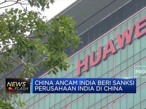 Blokir Huawei, China Ancam India