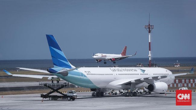 GIAA Garuda Indonesia Uji Kirim Barang Pakai Pesawat Tanpa Awak