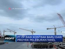 PTPP Tanda Tangani 2 Kontrak Baru