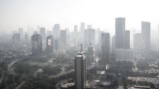 Sepekan Ganjil Genap, Rangking Jakarta di Airvisual Menurun