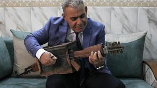 Cerita Warga Irak Ubah Senjata Serbu Jadi Instrumen Musik