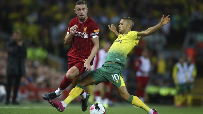 Prediksi Susunan Pemain Norwich City vs Liverpool