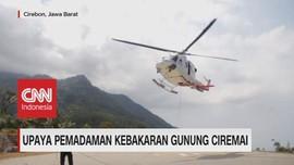 VIDEO: Upaya Pemadaman Kebakaran Gunung Ciremai