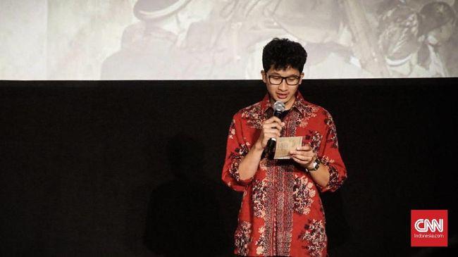 Surat Pram Dibacakan Sang Cucu di Gala Premier Bumi Manusia