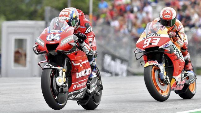 Dovizioso Sulit bendung Marquez Juara di MotoGP Thailand