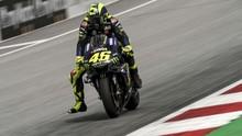 Fan Takjub Rossi Ubah Gaya Pengereman di MotoGP Jepang