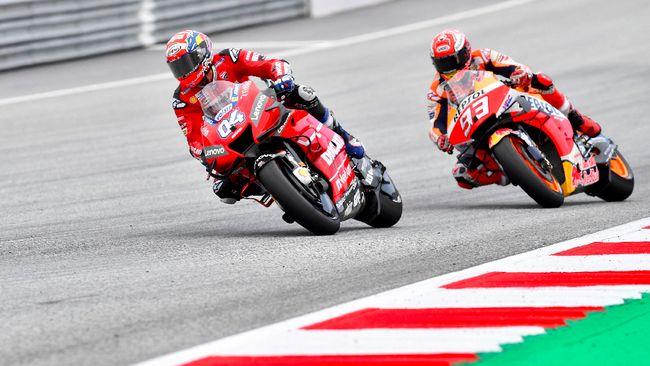 Marquez Usai Kalah di MotoGP Austria: Saya Lakukan Kesalahan