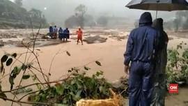 VIDEO: Banjir dan Longsor India Renggut 114 Nyawa