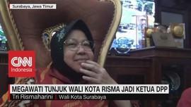 VIDEO: Megawati Tunjuk Wali Kota Risma Jadi Ketua DPP