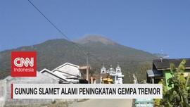 VIDEO: Gunung Slamet Alami Peningkatan Gempa Tremor