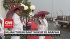 VIDEO: Hujan Turun Sejukkan Padang Arafah Saat Puncak Haji