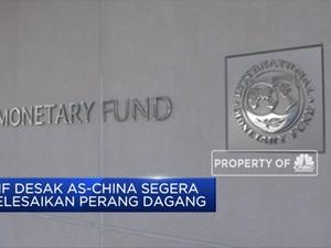 IMF Desak AS-China Selesaikan Perang Dagang