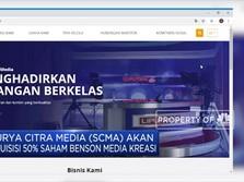Surya Citra Media Beli 50% Saham Benson