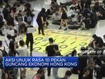 Unjuk Rasa Berlanjut, Ekonomi Hong Kong Goyah
