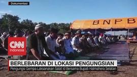 VIDEO: Berlebaran di Lokasi Pengungsian