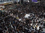 Hong Kong Membara, Bursa Saham Asia Ditinggal Investor