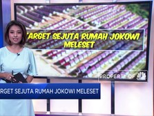 Duh! Target Sejuta Rumah Jokowi Meleset