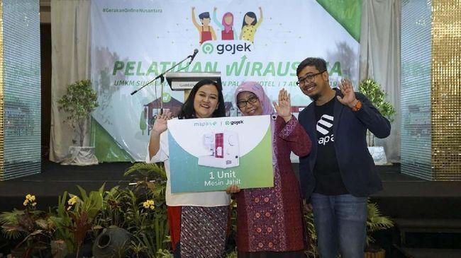Gojek Latih Ibu-Ibu NU Surabaya Jadi Pengusaha