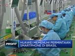 Huawei Bangun Pabrik Baru di Brasil