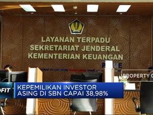 Investor Asing Kuasai SBN Hingga 38,98%