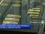 Harga Emas Cetak Rekor 6 Tahun Terakhir