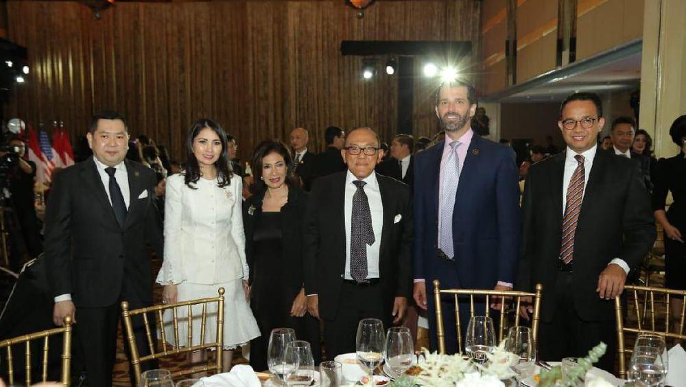 Kedatangan Donald Trump Jr ke Jakarta untuk membahas sejumlah proyek kerja sama MNC Land dan Trump.