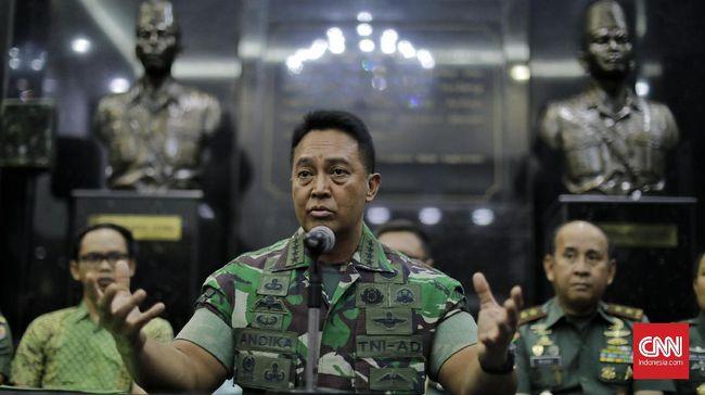 KSAD Sebut Dua Istri Anggota TNI Langgar UU ITE soal Wiranto