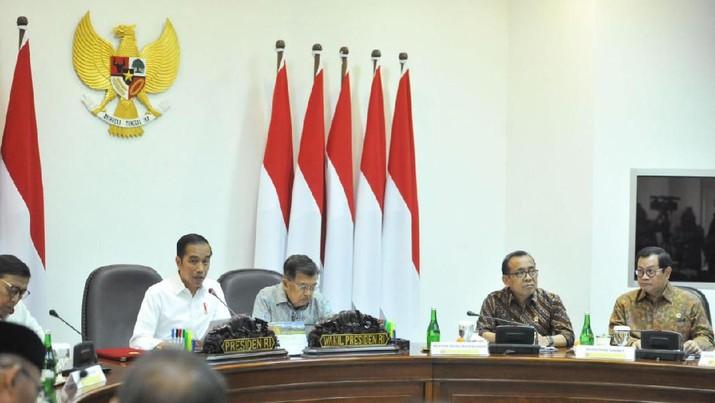 Hal itu diutarakan Jokowi dalam pertemuan dengan para pemimpin redaksi media massa nasional di Kompleks Istana Kepresidenan, Jakarta, Rabu (14/8/2019).