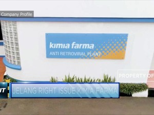 Kimia Farma Segera Gelar Rights Issue