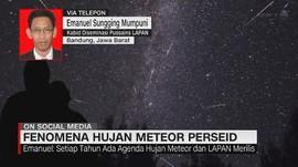 VIDEO: Fenomena Hujan Meteor Perseid di Mata LAPAN