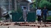 China juga berharap menguasai kawasan Kashmir. Persaingan India dan Pakistan membuahkan perlombaan senjata. Masing-masing juga menyimpan lebih dari seratus hulu ledak nuklir. (REUTERS/Danish Siddiqui)