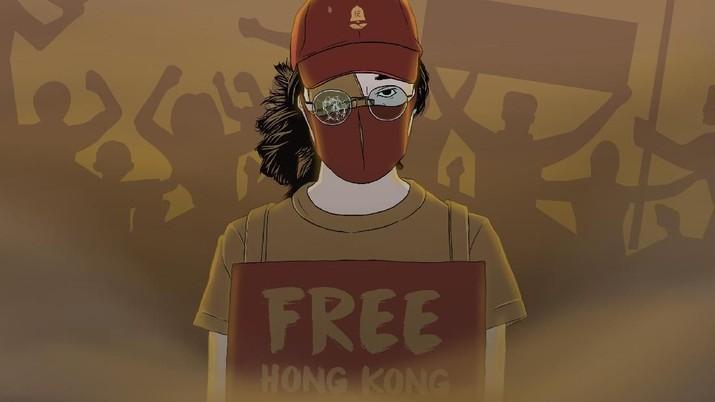 Dalam beberapa waktu terakhir, aksi demonstrasi besar-besaran terjadi di Hong Kong, melibatkan jutaan orang dan begitu banyak tetesan darah.
