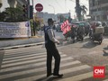 Taksi Online Usul ke Anies Berikan Stiker Bebas Ganjil Genap