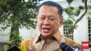Ketua MPR Sebut Penunjukan Prabowo Jadi Menteri Redam Gejolak