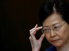 Hong Kong Amburadul, Pemimpin Siap Mundur Tapi...