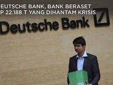 Deutsche Bank, Bank Beraset Rp 22.188 T yang Dihantam Krisis