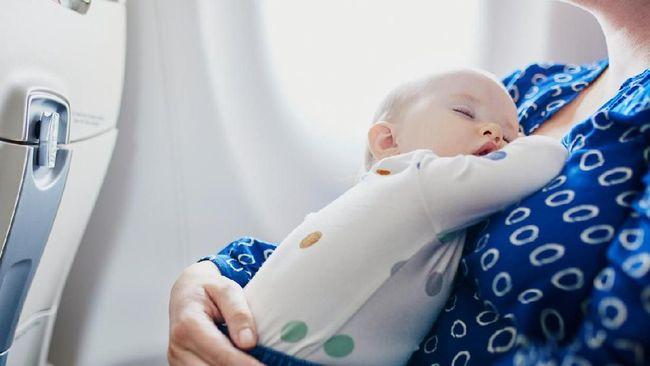 Maskapai Mulai Kenalkan Peta 'Bangku Bebas Bayi'