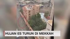 VIDEO: Mekah Hujan Es