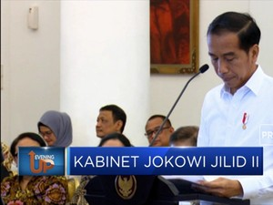 Jokowi Buka Suara Soal Komposisi Kabinet Baru