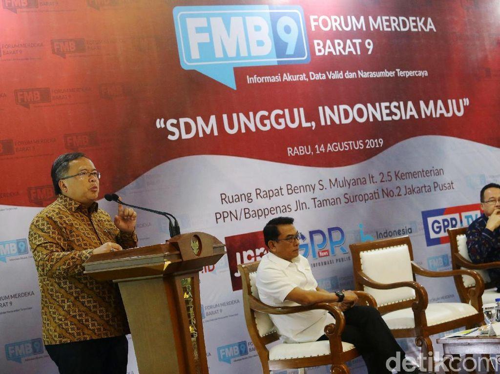 Seperti diketahui, Indonesia sendiri diprediksi World Economic Forum akan menjadi salah satu kekuatan ekonomi terbesar di dunia. Bahkan masuk ke dalam 5 besar ekonomi dunia. Prediksinya, pada tahun 2030, Tiongkok akan menjadi negara ekonomi terbesar di dunia, disusul India, Amerika Serikat, lalu Indonesia setelahnya.