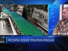 Industri Minuman Targetkan Pertumbuhan 4%