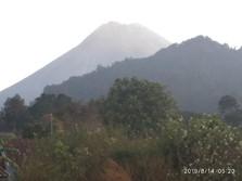 Gunung Merapi Keluarkan Awan Panas, Status: Waspada!